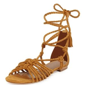 🆕️💥Falk Leather Sandals In Whiskey $288💥
